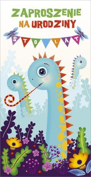 Party World Zaproszenie Na Urodziny Dinozaury Ceny I Opinie Ceneopl