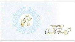 Party World Zaproszenie Na Chrzest święty Aniołek W Niebieskim