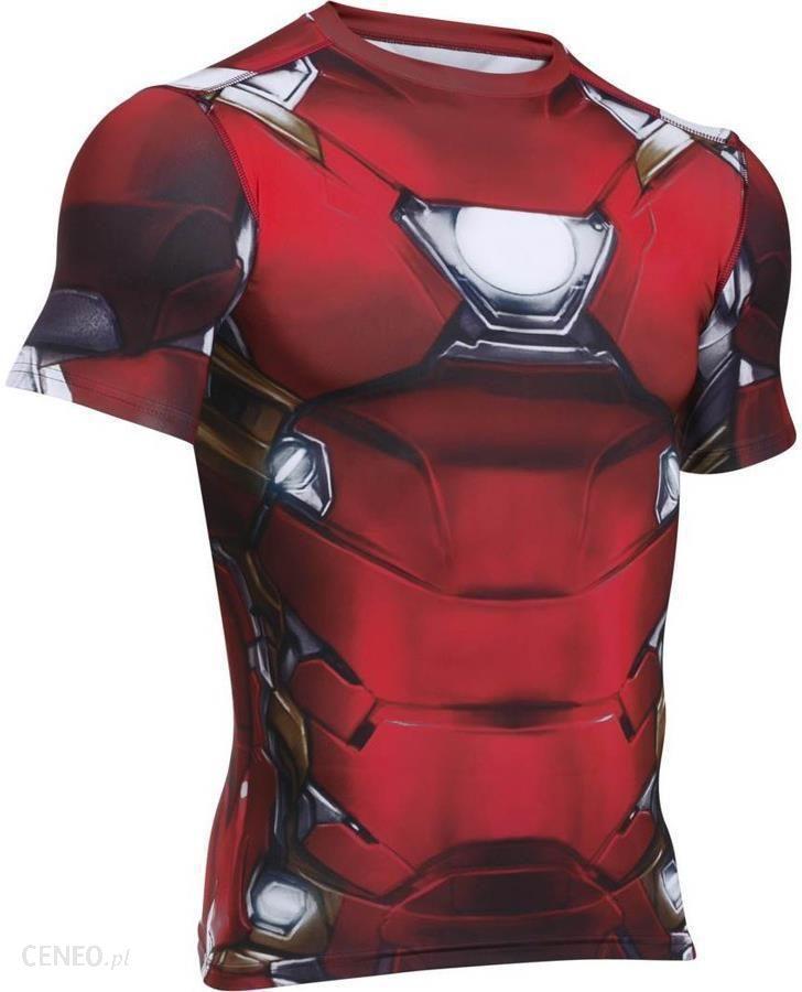 af46d89613c0c1 Under Armour Koszulka Męska Suit Ss Iron Man (1273694625) - Ceny i ...