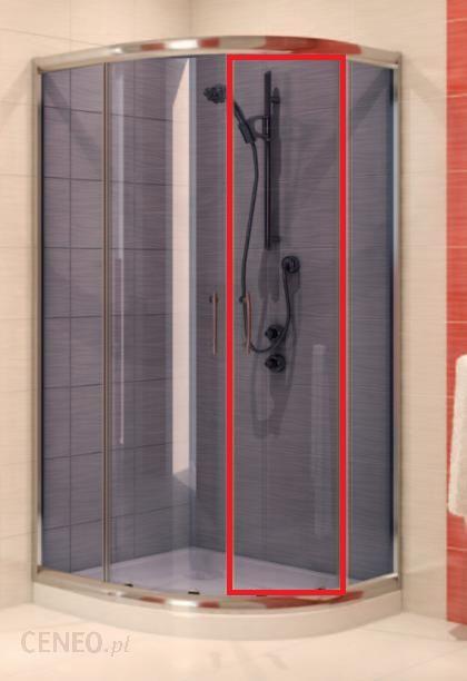 Akcesoria Prysznicowe Cersanit Ineba Szyba Do Czesci Ruchomej Do Kabiny Prysznicowej Polokraglej 80 90 Szklo Grafit S900 2438 Opinie I Ceny Na Ceneo Pl