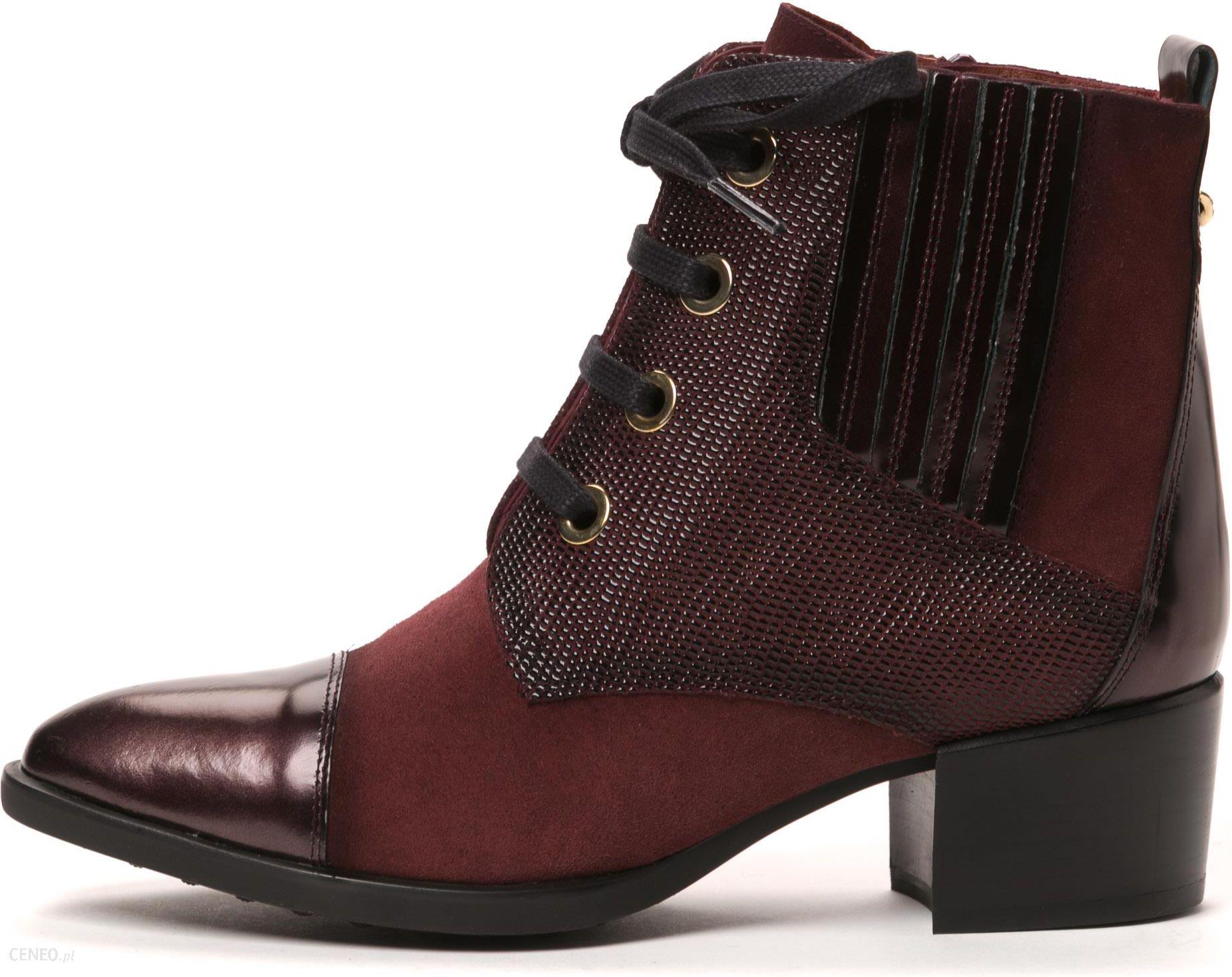 2ead983a99b44 Hispanitas buty za kostkę damskie 40 burgund - Ceny i opinie - Ceneo.pl