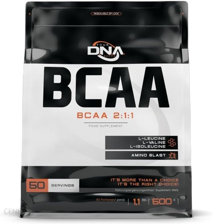 1c64c73ab29b32 Aminokwasy Dna Supps Supps Dna Bcaa 2:1:1 500G - Ceny i opinie ...