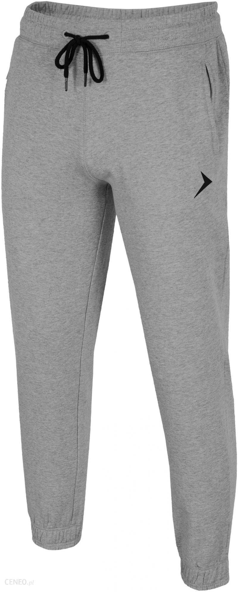 5a1a0ea5d8e9c Outhorn spodnie dresowe SMPD601 jasny szary melanż L - Ceny i opinie ...