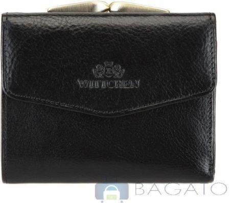 687dd1885ad30 portfel portmonetka damska Wittchen ITALY 21-1-063 - czarny