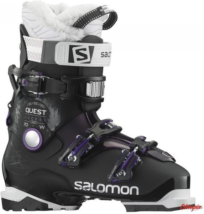 Buty narciarskie Salomon QUEST ACCESS 80 anthraciteblackblue