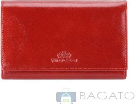 50368e4fb50fa Portfel portmonetka damska Wittchen Italy 21-1-081 - czerwony