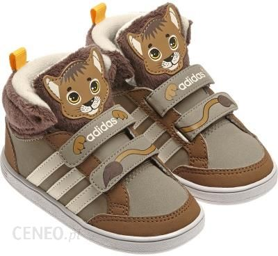 JUNIORSKIE BUTY HOOPS ANIMAL CMF MID INF AW5164 ADIDAS