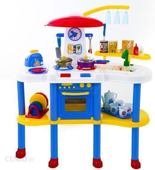 Kinderplay Kuchnia Na Wysokich Nóżkach światło Dźwięk Woda Niebieska Kp4332