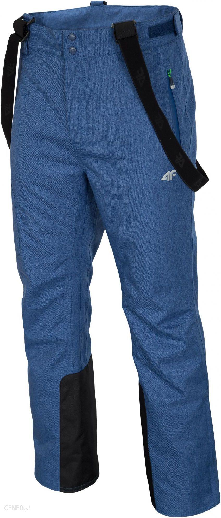4F Spodnie Narciarskie Spmn003 Drelichowy Melanż Xl,