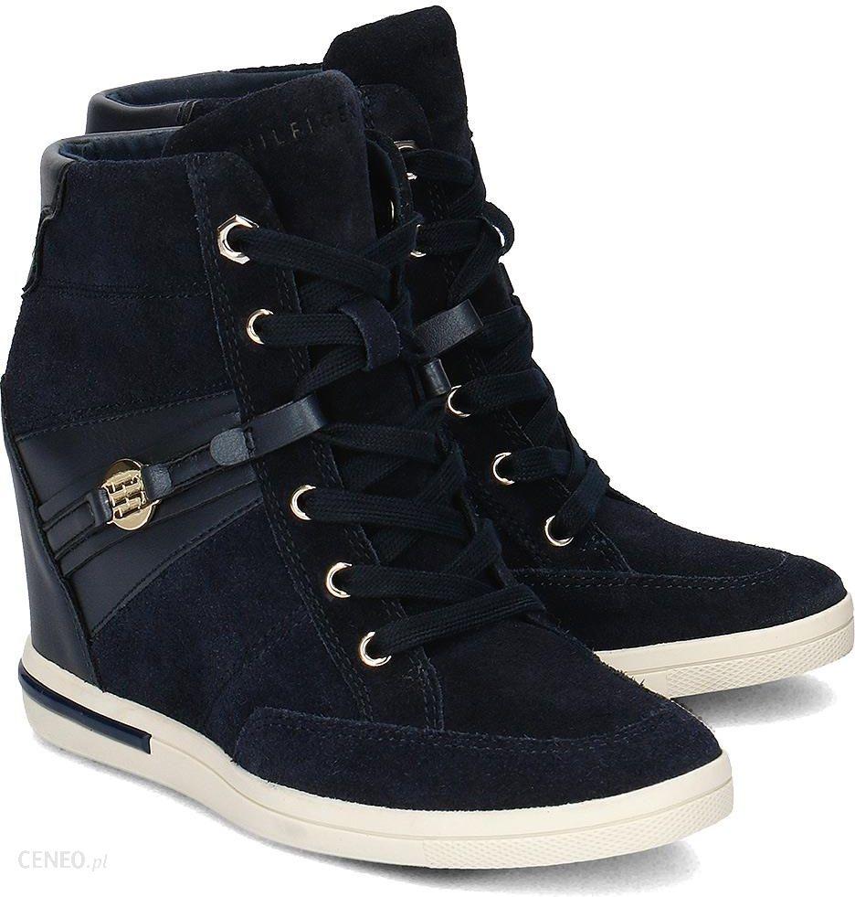 f7965128d4581 Sneakersy Tommy Hilfiger Sebille 19C - High Top Damskie - FW56821696 403 -  zdjęcie 1