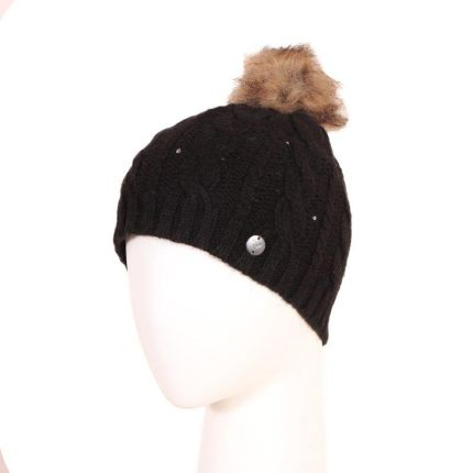Czapka zimowa Roxy Shooting Star Premium Beanie - True Black
