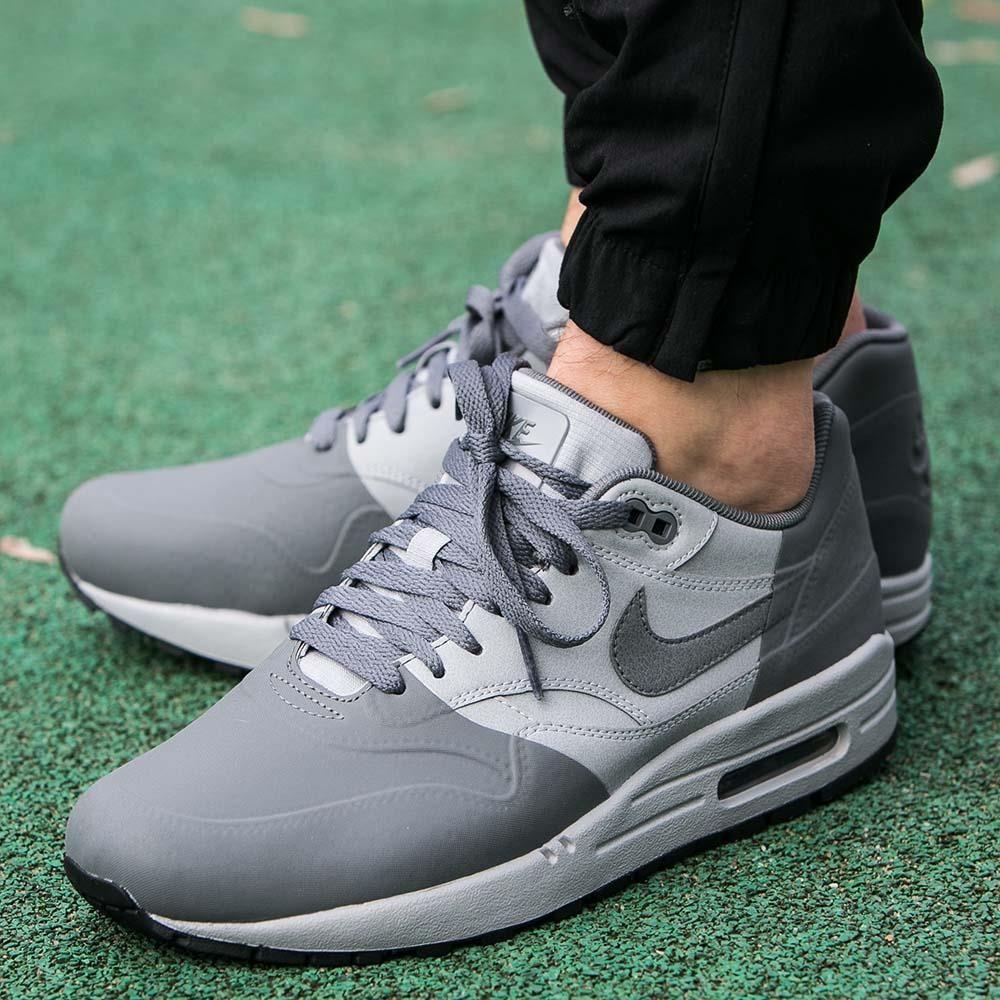 Buty Nike Air Max 1 Premium SE Wolf Grey (858876-001) - Ceny i ... eb8ce9b55