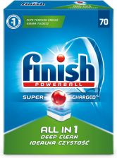 Finish Powerball All In 1 Tabletki Do Zmywarki 70 Szt.