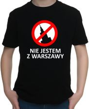 Koszulka dziecięca Nie jestem z Warszawy
