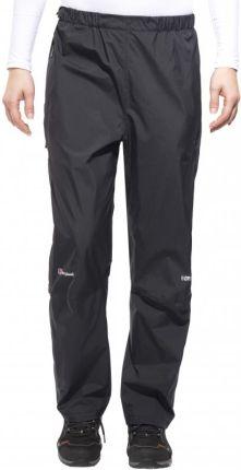 bde7f03b179a10 Berghaus Paclite Spodnie długie Kobiety Short czarny L Spodnie  przeciwdeszczowe