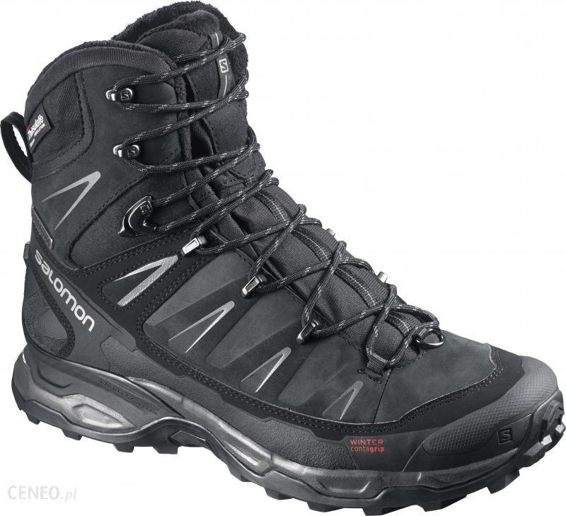 Salomon X Ultra Winter CS WP Buty Mężczyźni szaryczarny 42 Buty zimowe