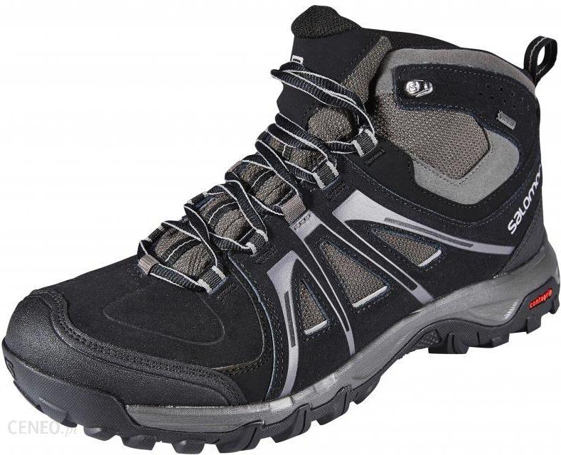 a3a8413f Salomon Evasion Mid GTX Buty Mężczyźni szary/czarny 41 1/3 Buty turystyczne  -