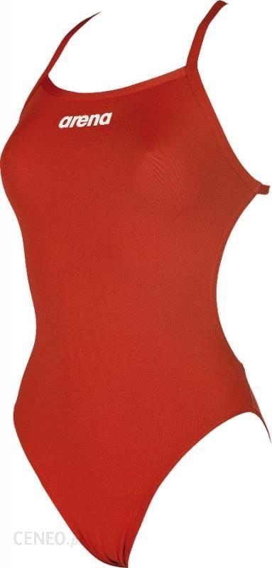 586fb449ae95b5 arena Solid Lightech High Strój kąpielowy Kobiety czerwony 34 Stroje  jednoczęściowe - zdjęcie 1