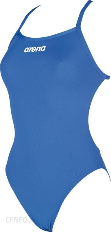 5e5eed09b3f127 arena Solid Lightech High Strój kąpielowy Kobiety niebieski 42 Stroje  jednoczęściowe - zdjęcie 1