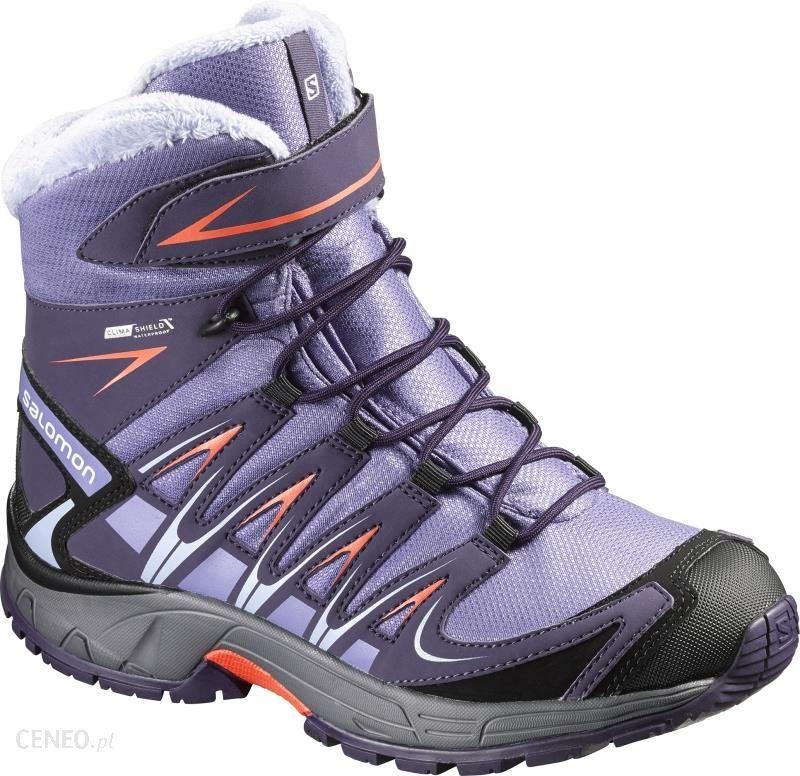 Buty trekkingowe Salomon XA Pro 3D Winter TS CSWP Buty Dzieci szaryniebieski 37 Buty turystyczne Ceny i opinie Ceneo.pl