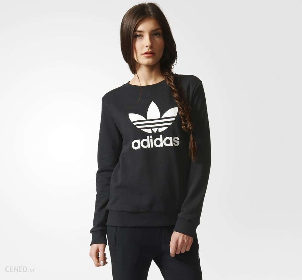 3c4d0b465 Bluza adidas Trefoil Crew Sweatshirt (AY8117) - Ceny i opinie - Ceneo.pl