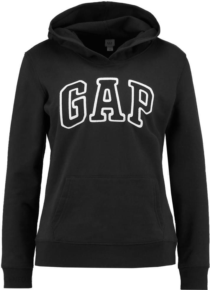 gap bluza z kapturem true black