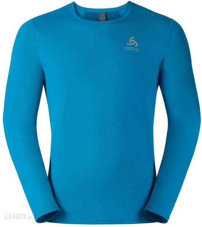 7030bfa0eea25d Odlo Imperium Koszulka do biegania Mężczyźni niebieski M Koszulki  treningowe z długim rękawem - zdjęcie 1