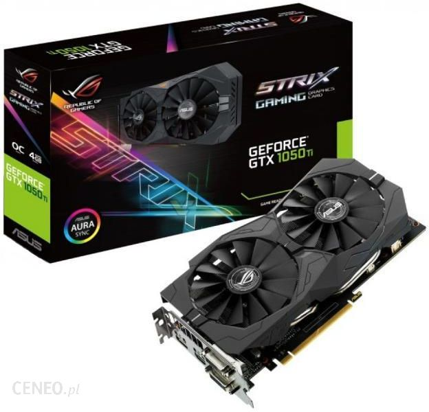 Asus Geforce Gtx 1050 Ti Strix Oc 4gb Rog Strix Gtx1050ti O4g