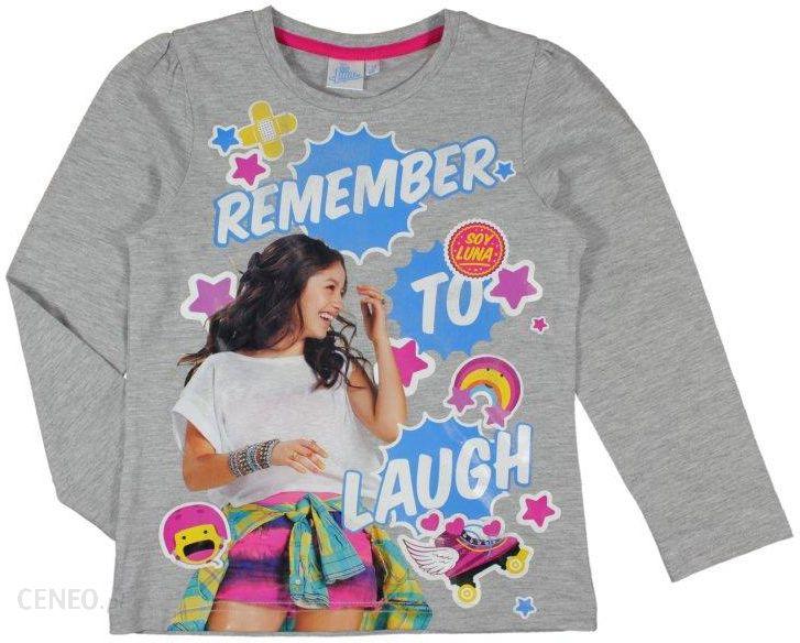 b39065a19088b4 Disney Soy Luna T-shirt dziewczęcy jasno szary 134 - Ceny i opinie ...