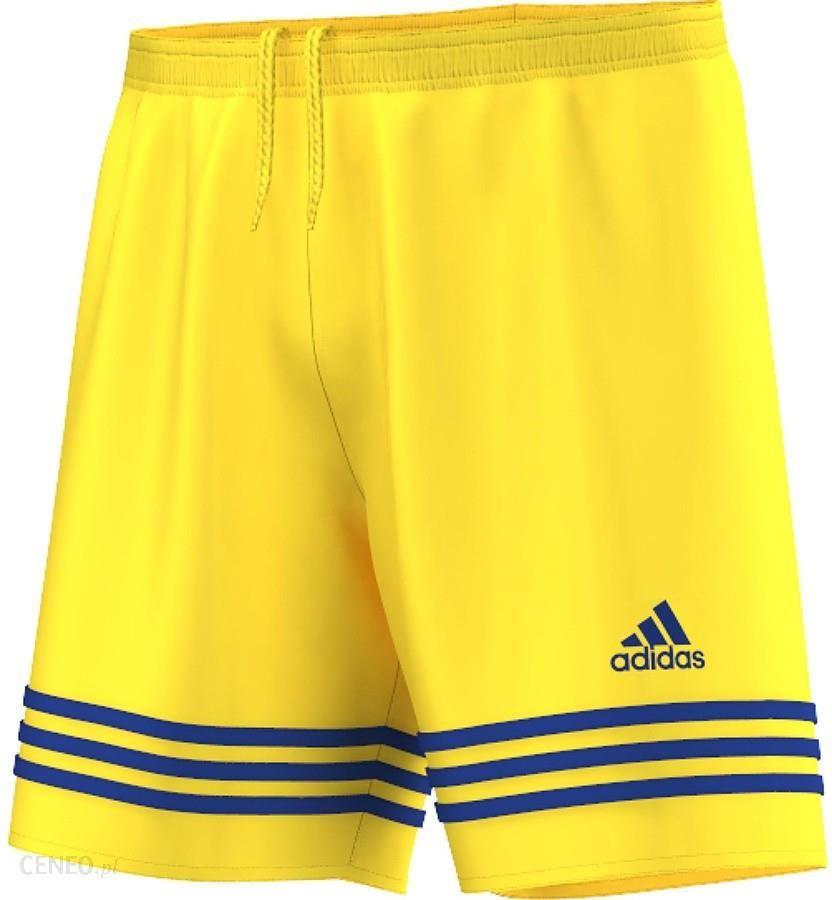 Adidas, Spodenki piłkarskie dziecięce, Parma 16 Short AJ5885, żółty, rozmiar 128
