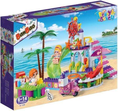 Banbao Klocki Basen Na Plaży (6128) ceny i opinie Ceneo.pl