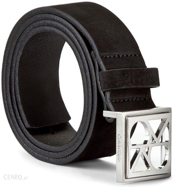 d9e68e9673443 Pasek Damski CALVIN KLEIN BLACK LABEL - Fashion Logo Belt K60K602083 75 001  - zdjęcie 1