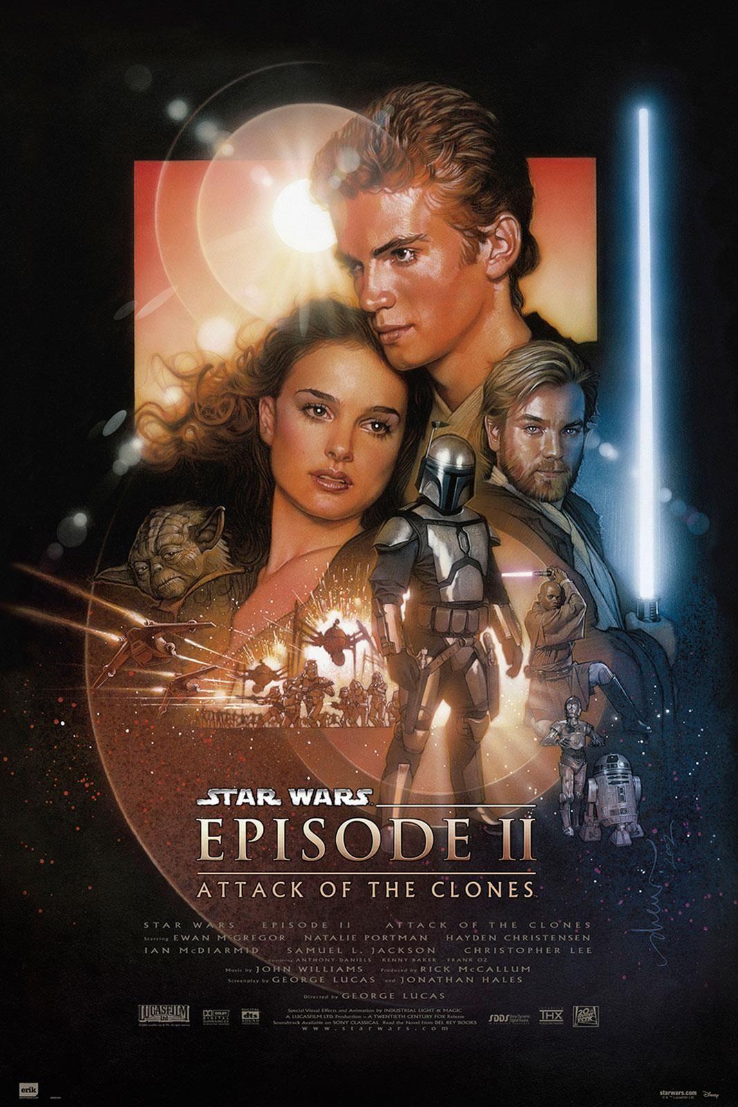 Star Wars Gwiezdne Wojny 2 Atak Klonów Plakat 61x915 Cm Cm Opinie I Atrakcyjne Ceny Na Ceneopl