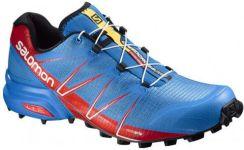 Niebieskie Buty Męskie Salomon Speedcross Pro Trail Na
