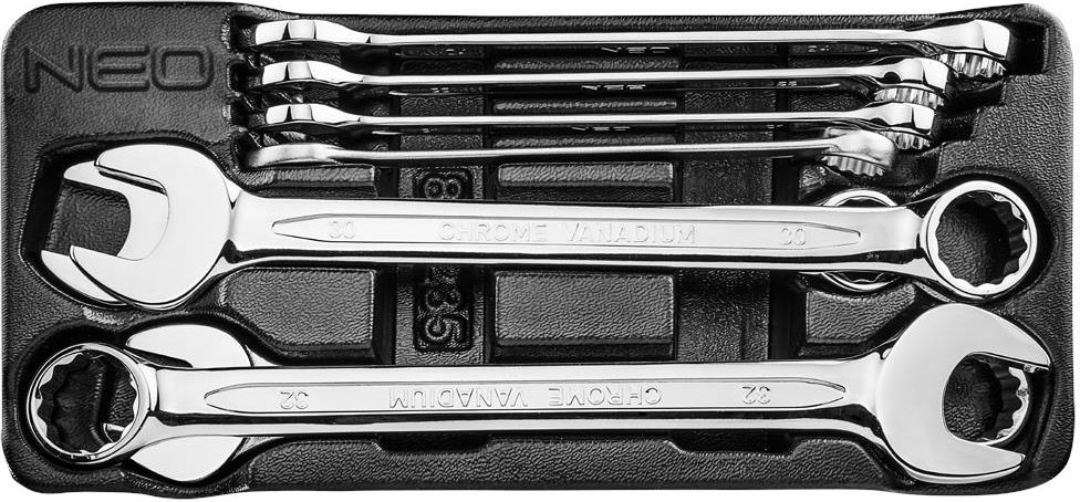6500470207872 NEO Zestaw klucz płasko-oczkowych 20-32mm 8 szt. 84-235 - Opinie i ...