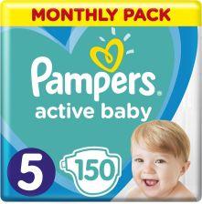 Pampers Active Baby MSB rozmiar 5 150 pieluszek