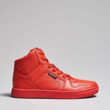 buty za kostke adidas damskie czerwone