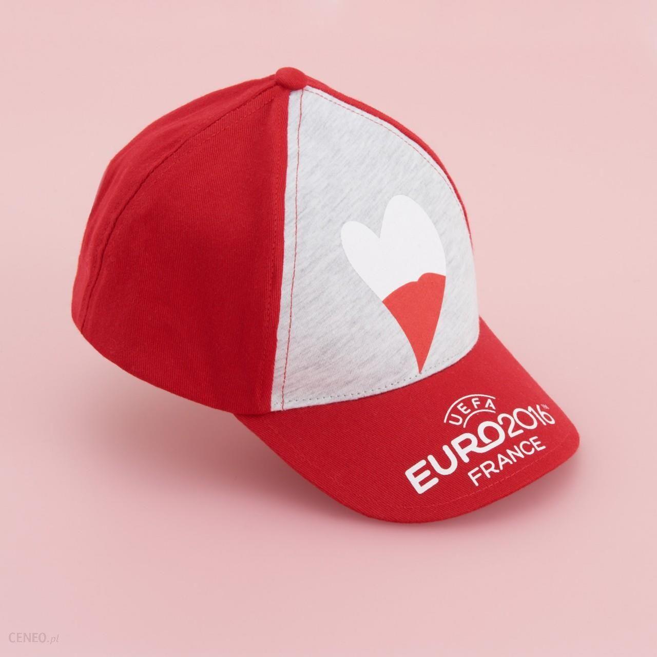 Czapka z daszkiem euro 216 Reserved Czerwony damska Ceny i opinie Ceneo.pl