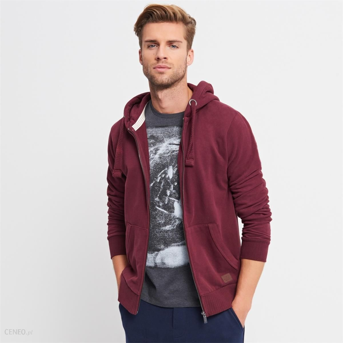 bluza z kapturem męska rozpinana reserved