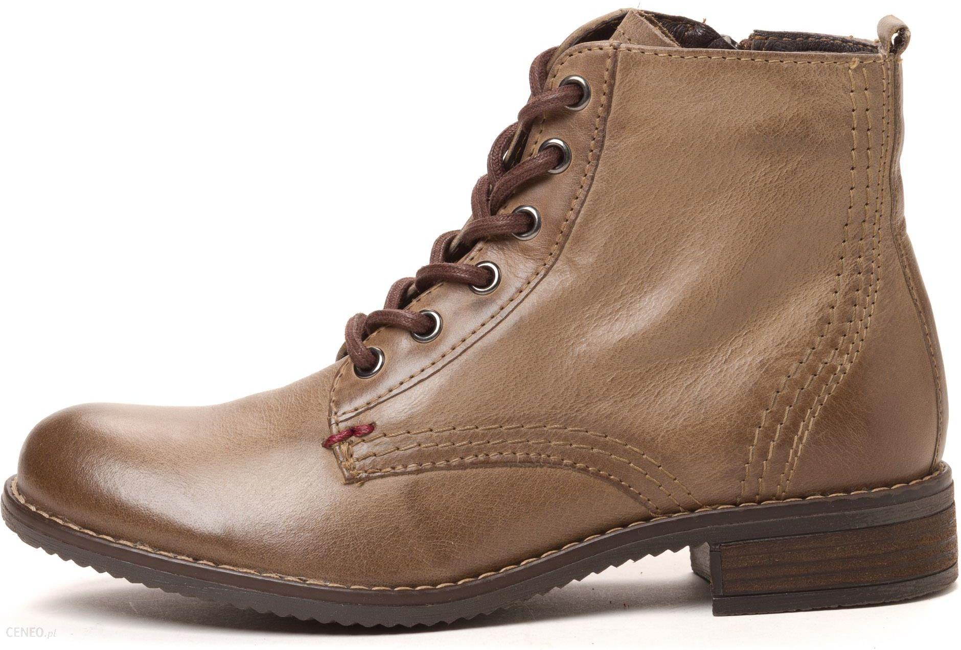 4f3e58369bfb60 Klondike buty za kostkę damskie 38 brązowy - Ceny i opinie - Ceneo.pl