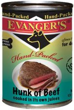 Evanger's Hunk of  Hand Packed - wołowina - 369g