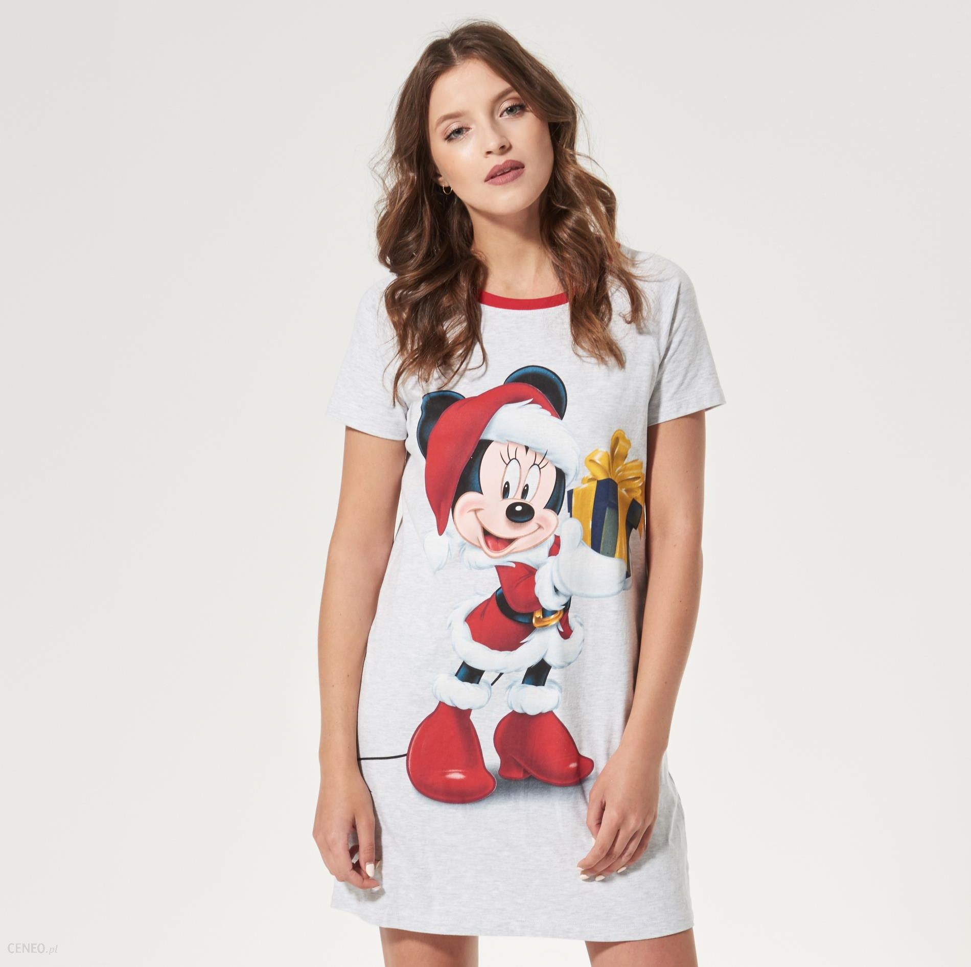 House Koszula nocna mickey mouse Szary damska Ceny i  TeMge