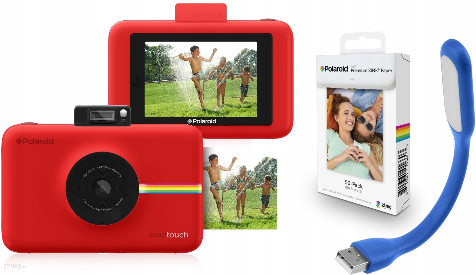Polaroid SNAP Touch Niebieski (SB3613)