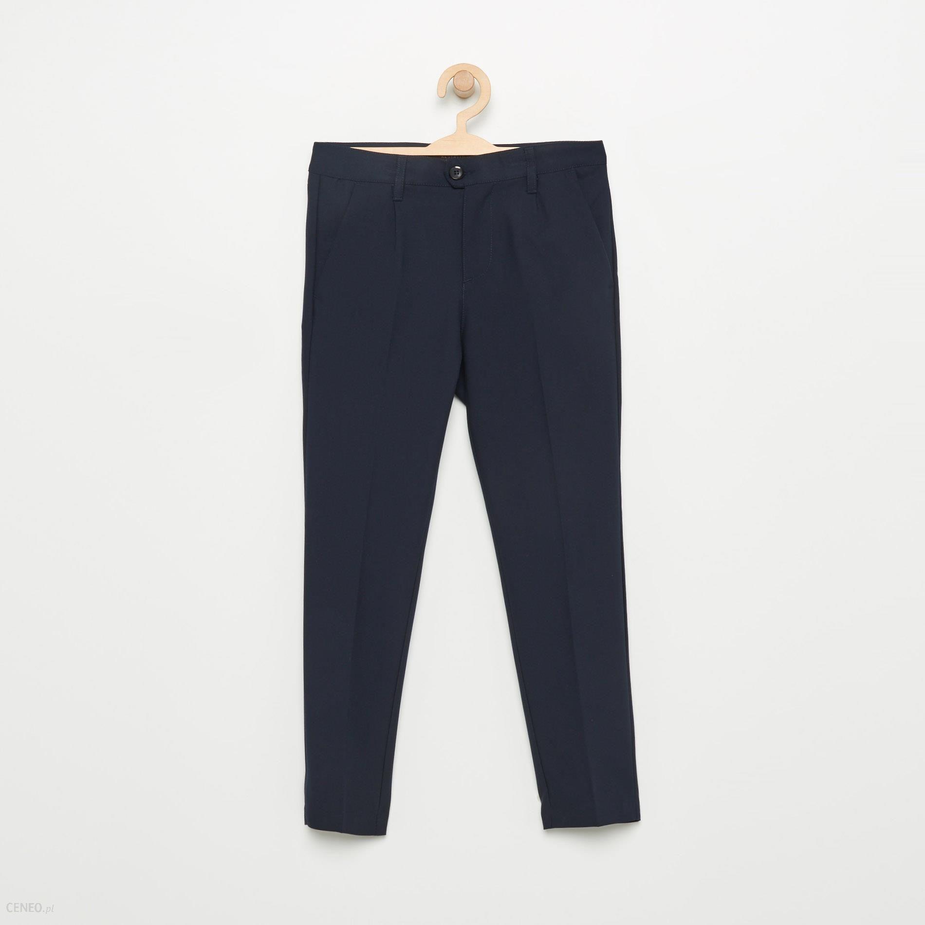 8efd270ce00c Reserved - Eleganckie spodnie - Granatowy - męska - Ceny i opinie ...