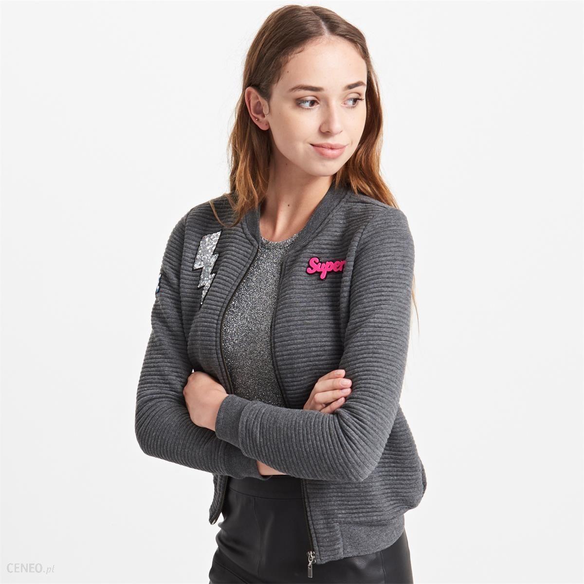 dd34edf0cb679d Reserved - Rozpinana bluza z naszywkami yfl - Szary - damska - zdjęcie 1
