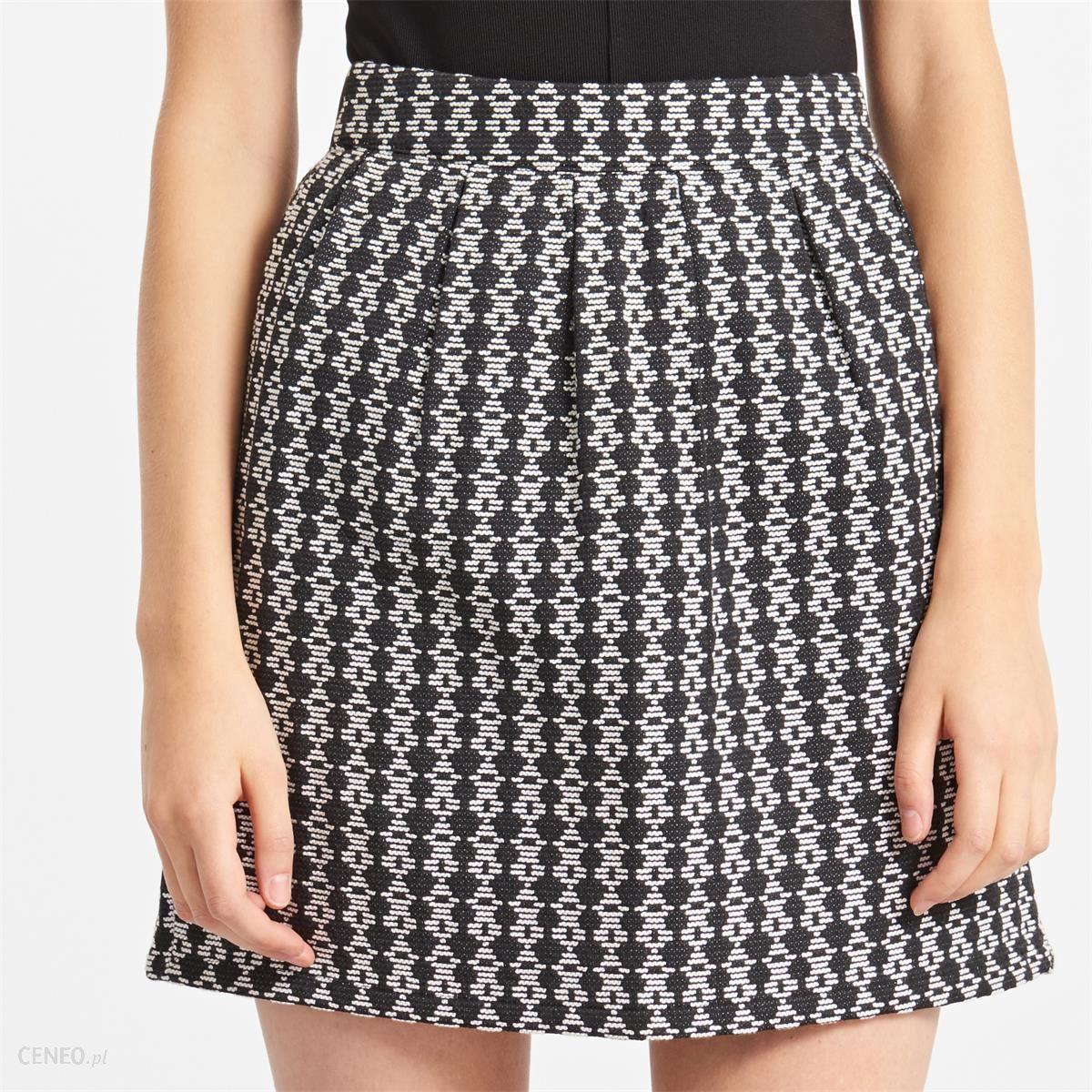 Reserved Trapezowa spódnica Wielobarwny damska