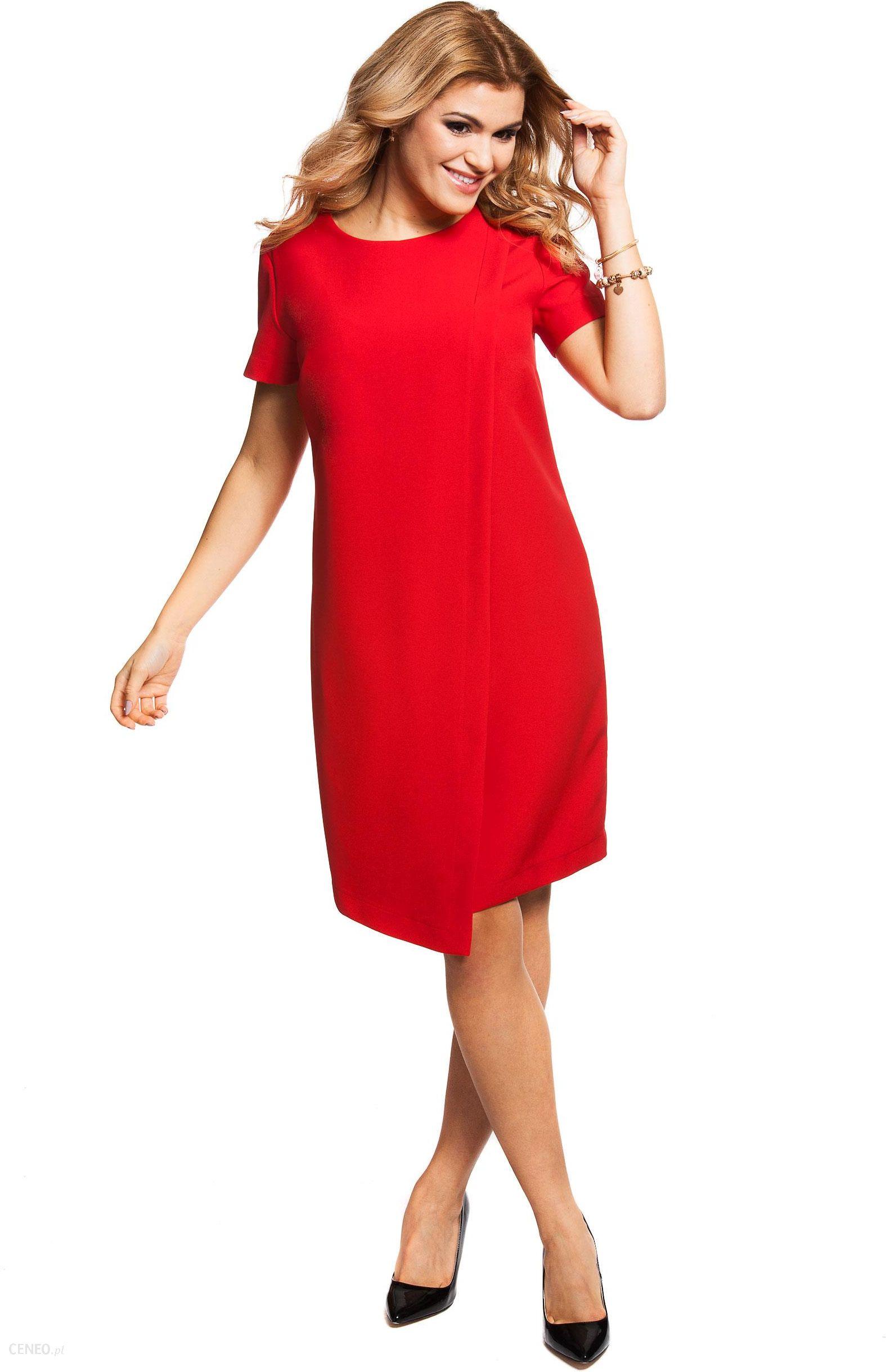 3324015e56 Wieczorowa sukienka ECHO LUNANA czerwona r XXL - Ceny i opinie ...