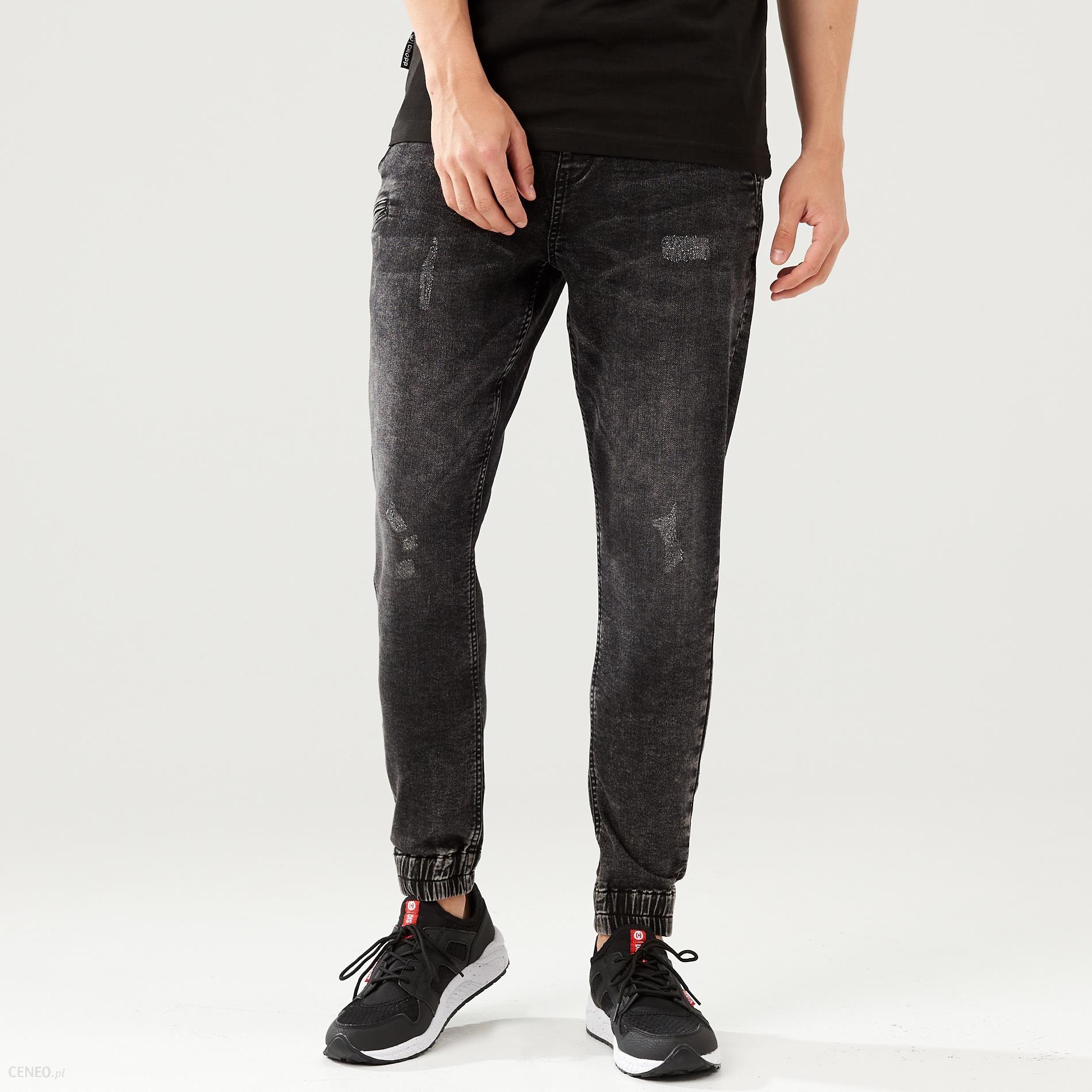 Cropp - Spodnie jogger - Czarny - męska - zdjęcie 1