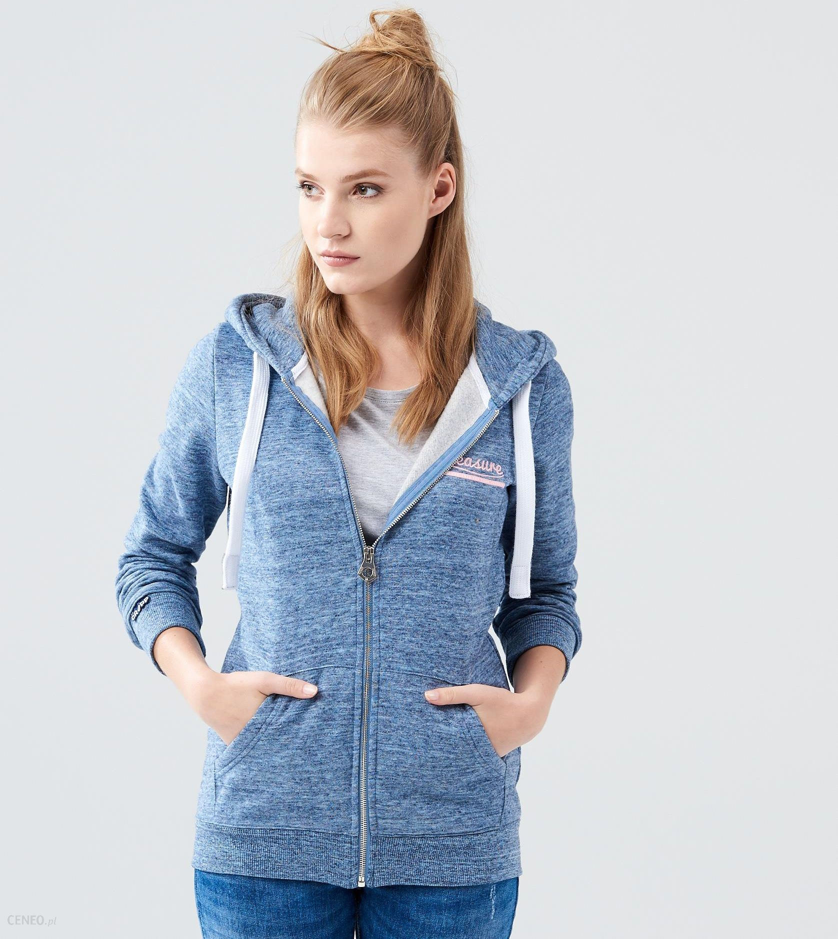 bluza rozpinana damska cropp