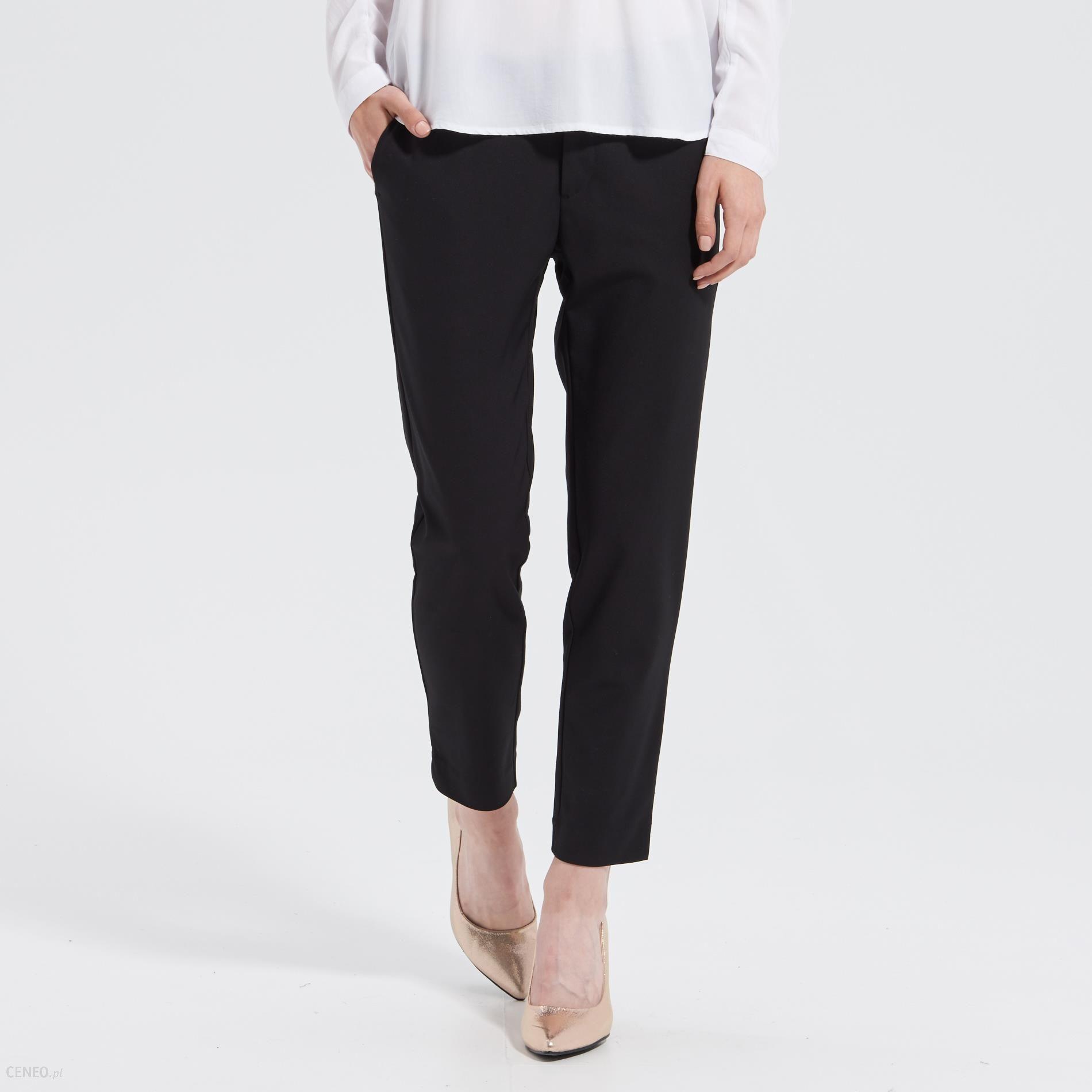 8e3f6a3d5a9021 Sinsay - Eleganckie spodnie classy&fabulous - Czarny - damska - zdjęcie 1